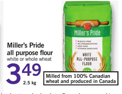 Miller's Pride All Purpose Flour - 2.5 Kg