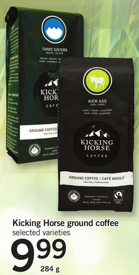 Kicking Horse Ground Coffee - 284 g
