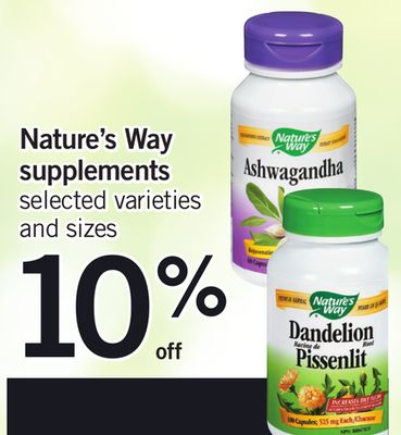 Nature's Way Supplements
