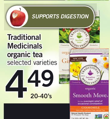 Traditional Medicinals Organic Tea - 20-40's