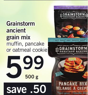 Grainstorm Ancient Grain Mix - 500 g