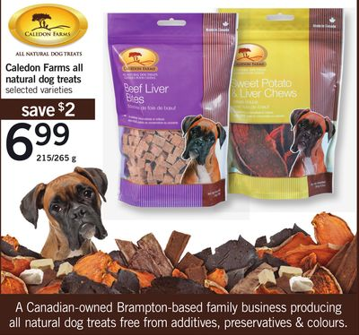 Caledon Farms All Natural Dog Treats - 215/265 g