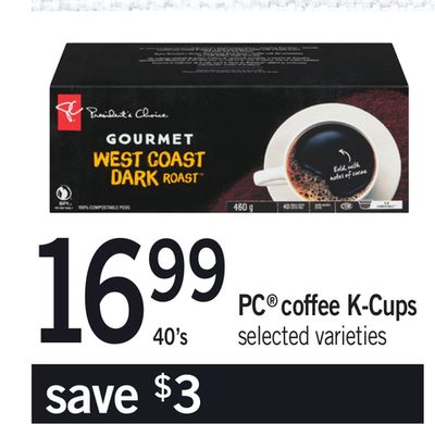 PC Coffee K-cups - 40's