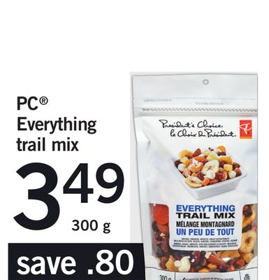PC Everything Trail Mix - 300 g
