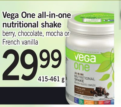 Vega One All-in-one Nutritional Shake - 415-461 g