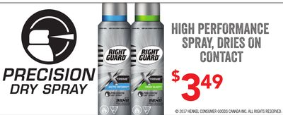 Right Guard Dry Spray
