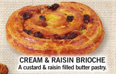 Cream & Raisin Brioche