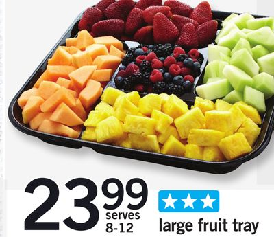 Large Fruit Tray
