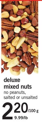 Deluxe Mixed Nuts - 100 G