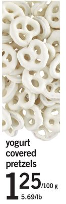 Yogurt Covered Pretzels - 100 G