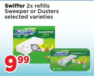 Swiffer 2x Refills Sweeper Or Dusters