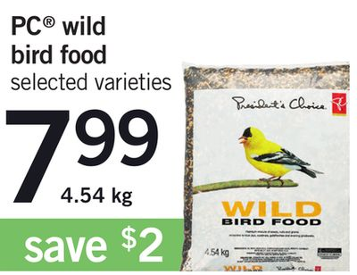 PC Wild Bird Food - 4.54 Kg