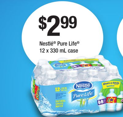 Nestlé Pure Life - 12 X 330 mL Case
