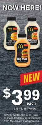 Big Mac Sauce - 355 mL