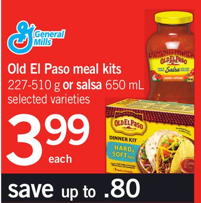 Old El Paso Meal Kits - 227-510 g Or Salsa - 650 mL