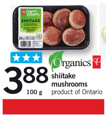 Shiitake Mushrooms - 100 g