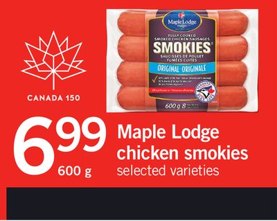 Maple Lodge Chicken Smokies - 600 g