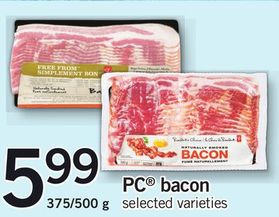 PC Bacon - 375/500 g