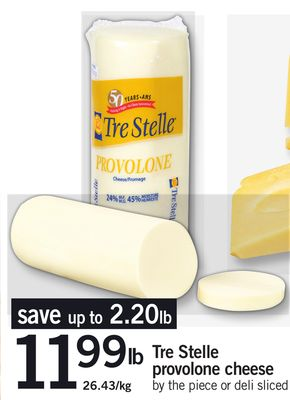 Tre Stelle Provolone Cheese