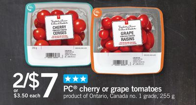 PC Cherry Or Grape Tomatoes - 255 g