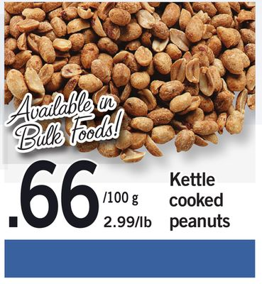 Kettle Cooked Peanuts - 100 g