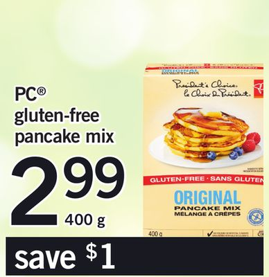 PC Gluten-free Pancake Mix - 400 g