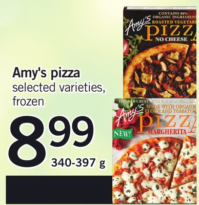 Amy's Pizza - 340-397 g