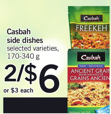 Casbah Side Dishes - 170-340 g