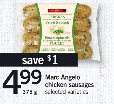 Marc Angelo Chicken Sausages - 375 g