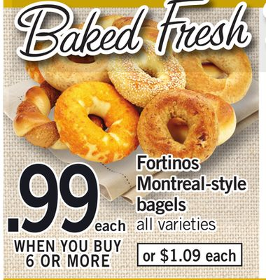Fortinos Montreal-style Bagels