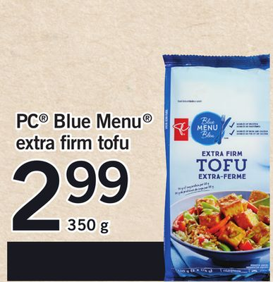 PC Blue Menu Extra Firm Tofu - 350 g