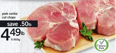 Pork Centre Cut Chops