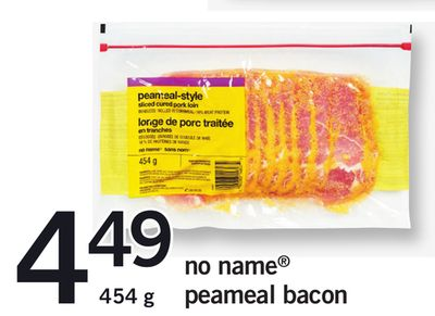 No Name Peameal Bacon - 454 g