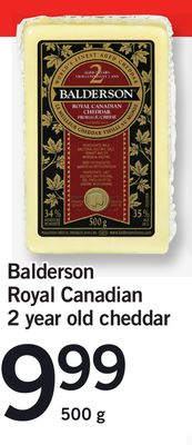 Balderson Royal Canadian 2 Year Old Cheddar - 500 g