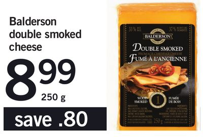 Balderson Double Smoked Cheese - 250 g
