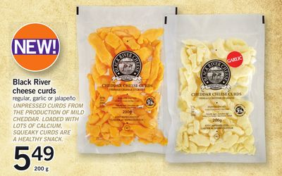Black River Cheese Curds - 200 g