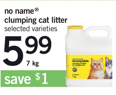 No Name Clumping Cat Litter - 7 Kg