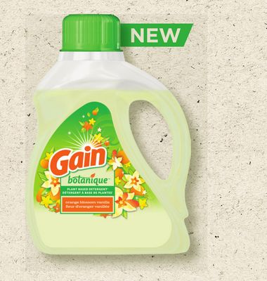 Gain Botanique Liquid Laundry Detergent - 24 Loads
