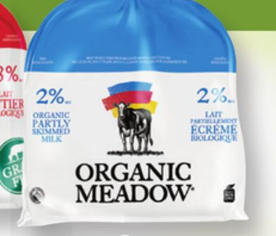 Organic Meadow Grass Fed Milk