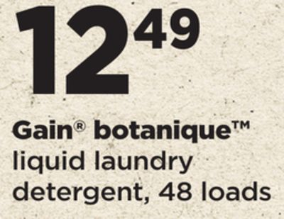 Gain Botanique Liquid Laundry Detergent - 48 Loads