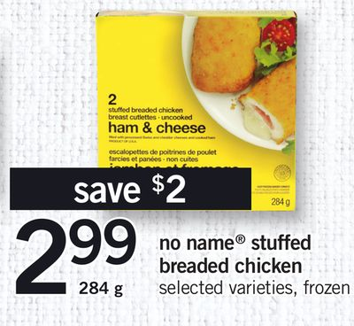 No Name Stuffed Breaded Chicken - 284 g