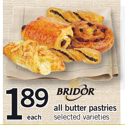 All Bridor Butter Pastries