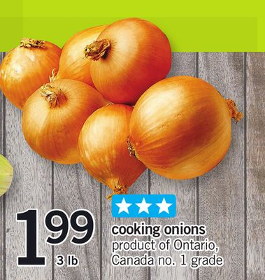 Cooking Onions - 3 Lb
