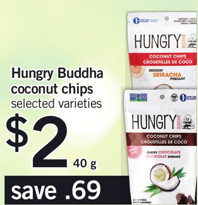 Hungry Buddha Coconut Chips - 40 g