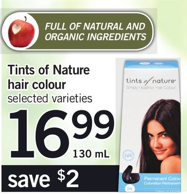 Tints Of Nature Hair Colour - 130 mL