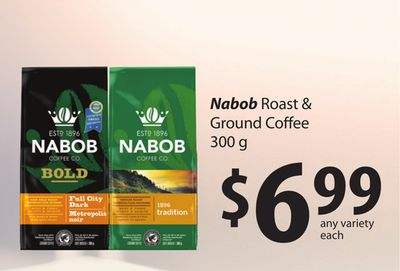 Nabob Roast & Ground Coffee - 300 g