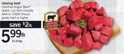Certified Angus Beef Stewing Beef