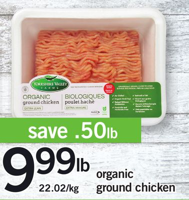 Organic Ground Chicken