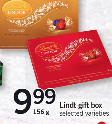 Lindt Gift Box - 156 g