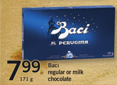 Baci Regular Or Milk Chocolate - 171 g